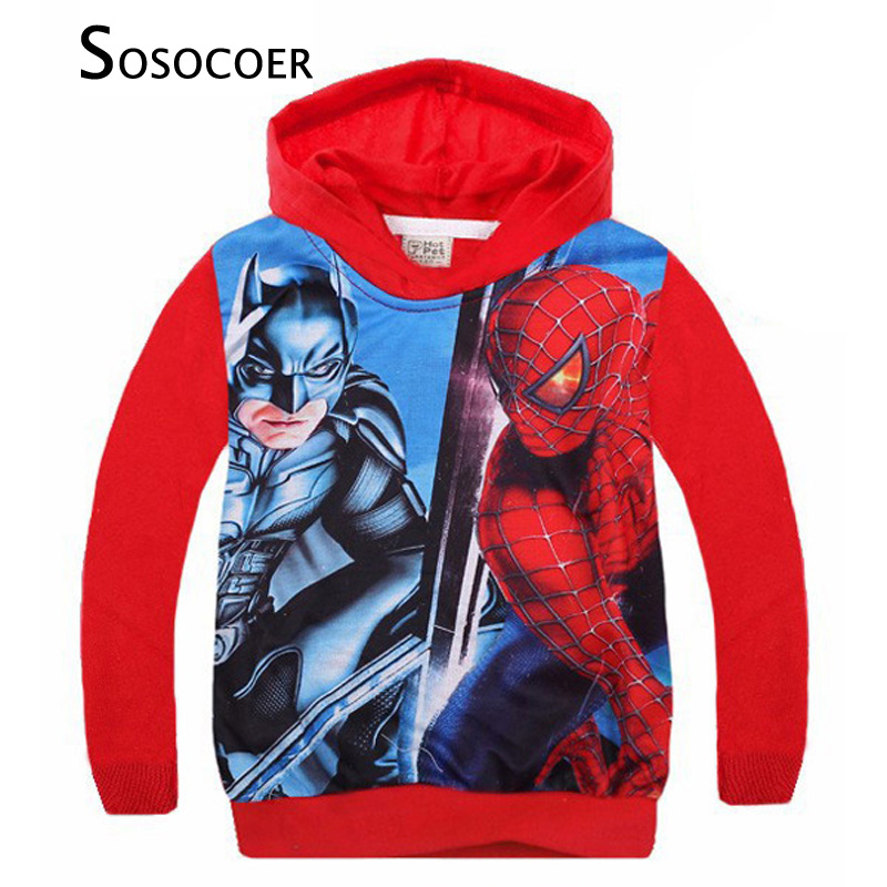 toddler boy coats 2016 new spring autumn spiderman boys toddler coat cartoon anime long sleeve toddler hooded coat boy outerwear
