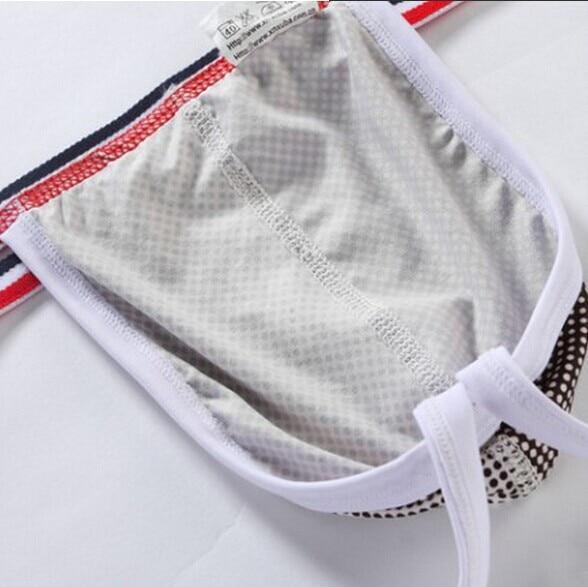 соблазнительные мужские стринги нижнее белье низкая малоэтажных спандекс шелковистой G - строки