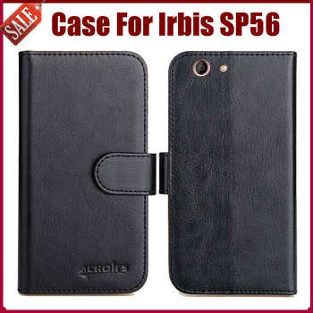 Hot Sale! Irbis SP56 Case New Arrival 6 Colors High Quality Flip Leather Protective Phone Cover For Irbis SP56 Case image