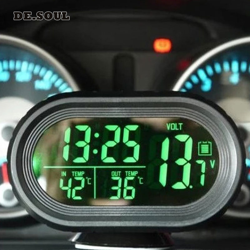 PARASOLANT Car Accessories Clocks Digita