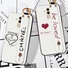Чехол для ремешка на руку ремешок Huawei Mate 20 Lite 20X Решетка Love Палец Кольцо Чехол Huawei Mat ①