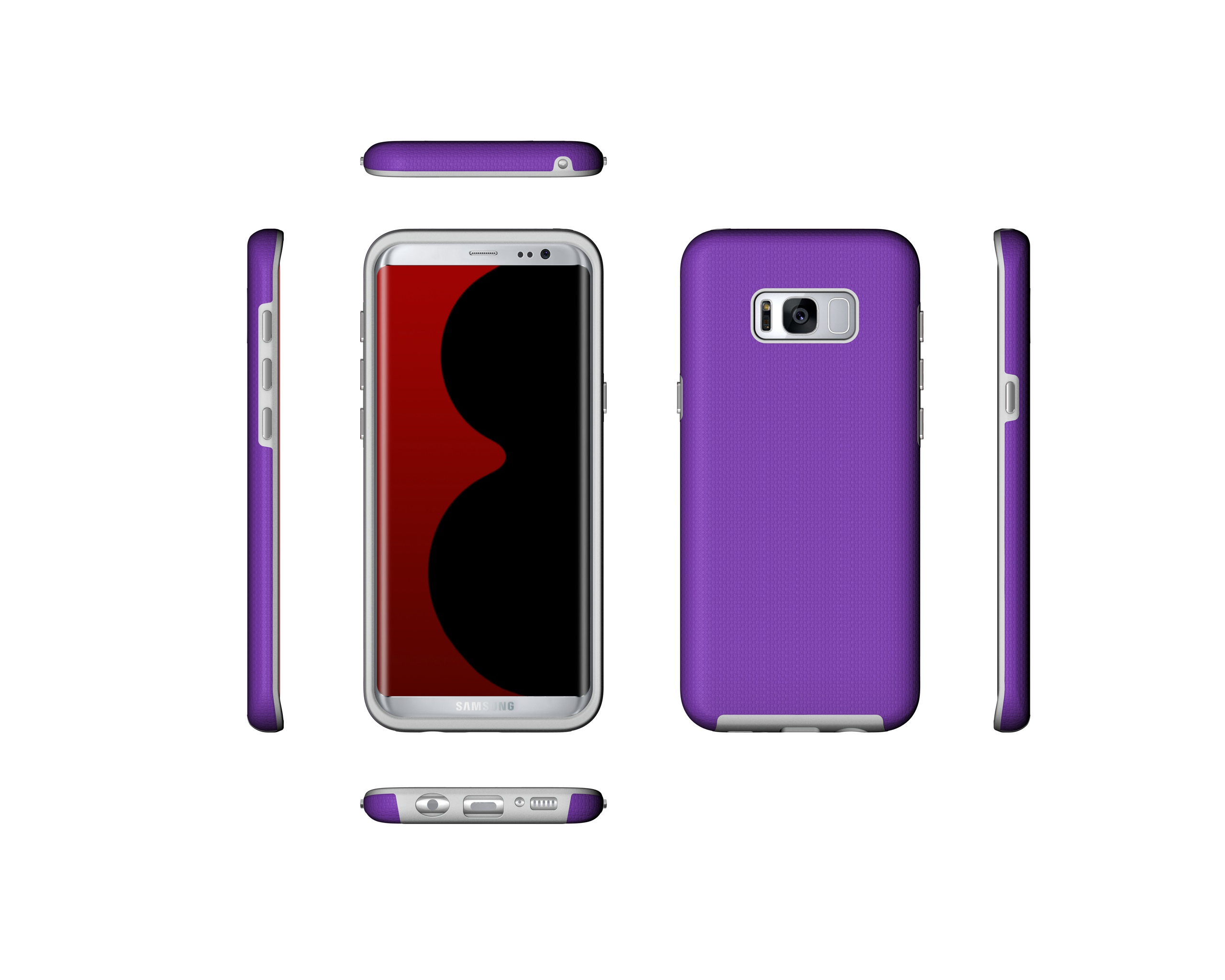 US $4 99 |Luxury Case for Samsung Galaxy S8 Plus TPU+PC Case for Samsung  S8Plus SM G955F G955U G955YI G9550 G955N/W/D/J Combination Case-in Phone
