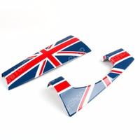 Areyourshop Dashboard Panel Trim Cover Union Jack JCW For BMW for MINI Cooper F55 F56 2014 2015 Car Styling Accessories