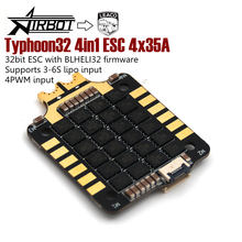 Typhoon32 v2.2 4in1 ESC 4x35A with 30.5x30.5mm mounting holes supports DSHOT 1200, BLHELI32 firmware for quadcopter
