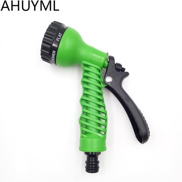 Car Water Spray Gun Adjustable Car Wash Hose Garden Spray Portable ...