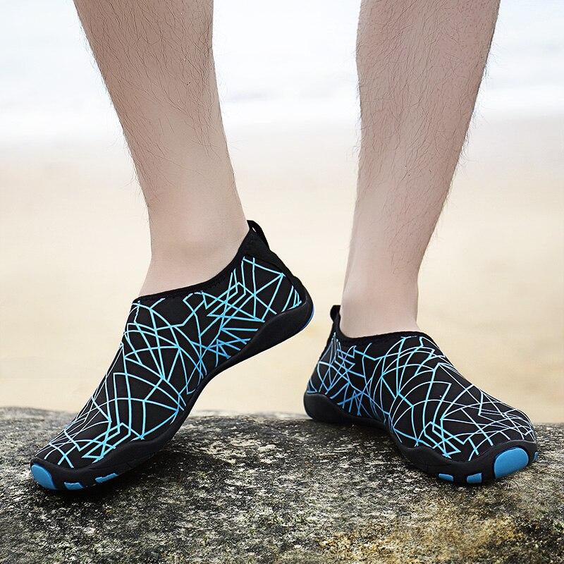 Onedoyee Piscine Extérieure D'eau Chaussures Lumière Hommes Plage Chaussures Doux Coussin Marche Amant De Yoga Chaussures Sneaker Chaussures En Amont