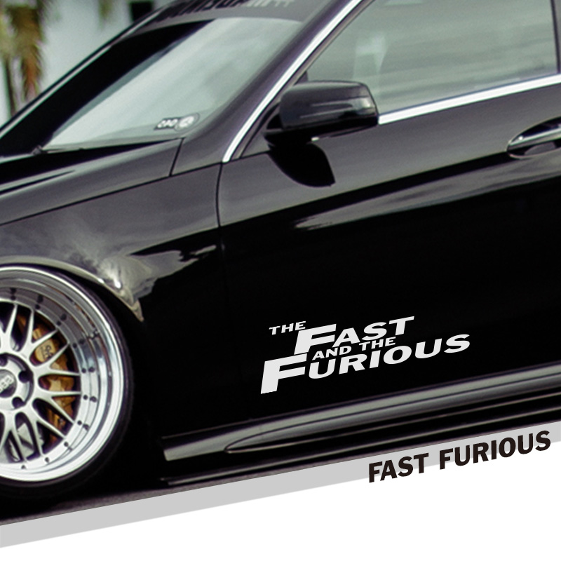 Noizzy The Fast and the Furious Ho Car Sticker Vinyl Auto Decal Reflective Motorcycle Automobile Red Exterior Tuning Car Styling junction produce jp luxury reflective windshield sticker ho car auto motorcycle vinyl diy decal exterior window body car styling
