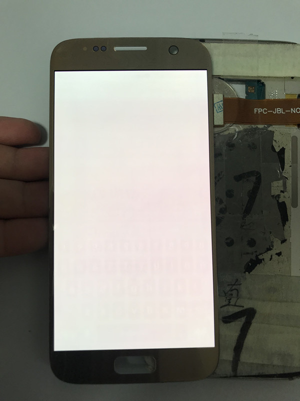 Brûler Ombre Super AMOLED lcd pour samsung Galaxy S7 G930 G930F écran lcd