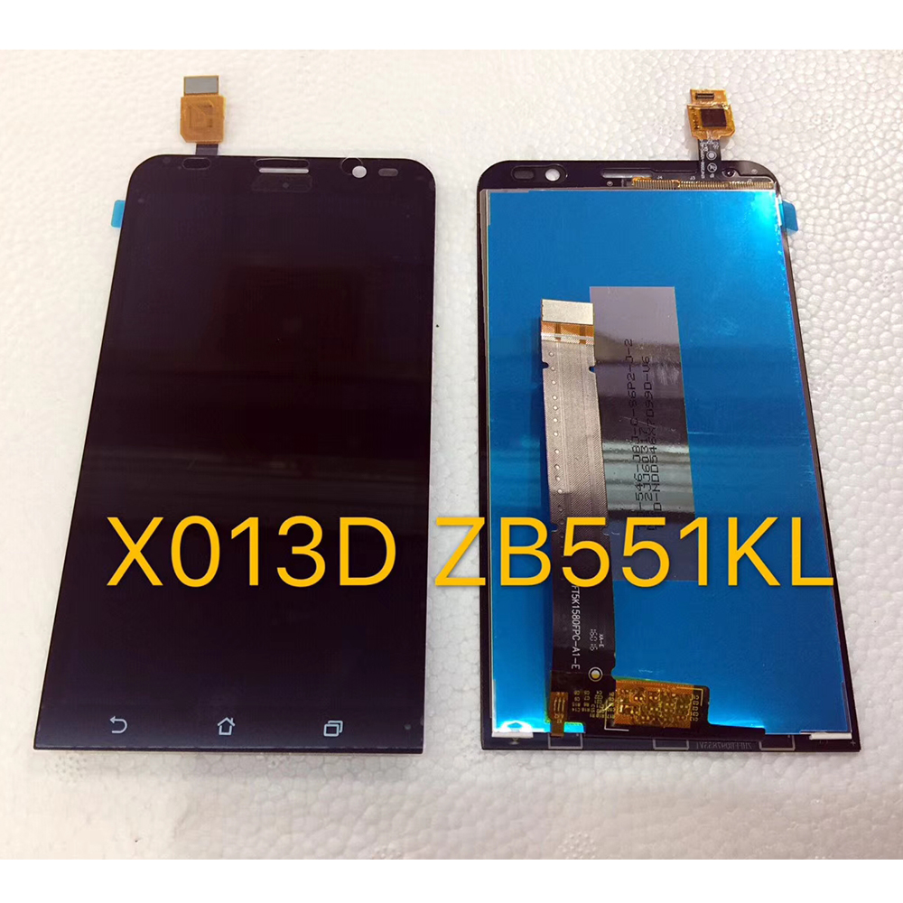 5.5inch 1280*720 LCD Display Touch Digitizer Glass Assembly For <font><b>Asus</b></font> ZenFone Go TV TD-LTE ZB551KL <font><b>X013D</b></font> X013DB image