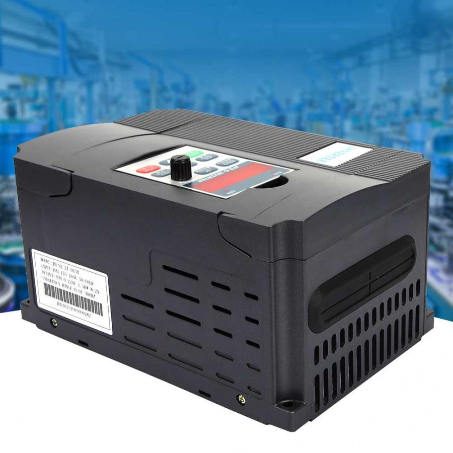 Solar Inverter VFD Variable Frequency Converter step up converter For Motor Speed Control Single phase AC
