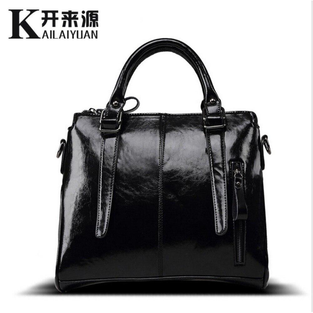 KLY 100% Véritable cuir Femmes sacs à main 2018 Nouvelle marque conception Messenger sac dames de mode Bandoulière Sac célèbre marque sacs