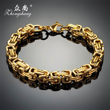 Titanium Steel Bracelet for Men and Women Snap Jewelry Stainless Chain Bracelets & Bangles Charm Male & Female Best Lover Gift