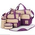 7 цветов 5 шт./компл. высокое качество тотализатор ребенка плечо lot-картера прочный мешок мумия мать ребенка / детские сумки для мамы