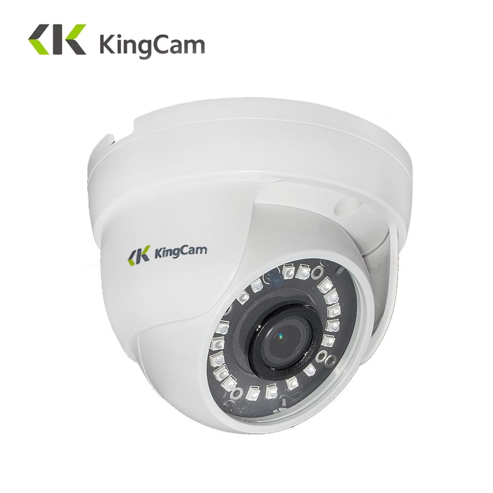 KingCam Laser IR LED Caméra IP 1080 P 960 P 720 P de Sécurité intérieure Dôme CCTV ONVIF Réseau CCTV Surveillance caméras ipcam RTSP
