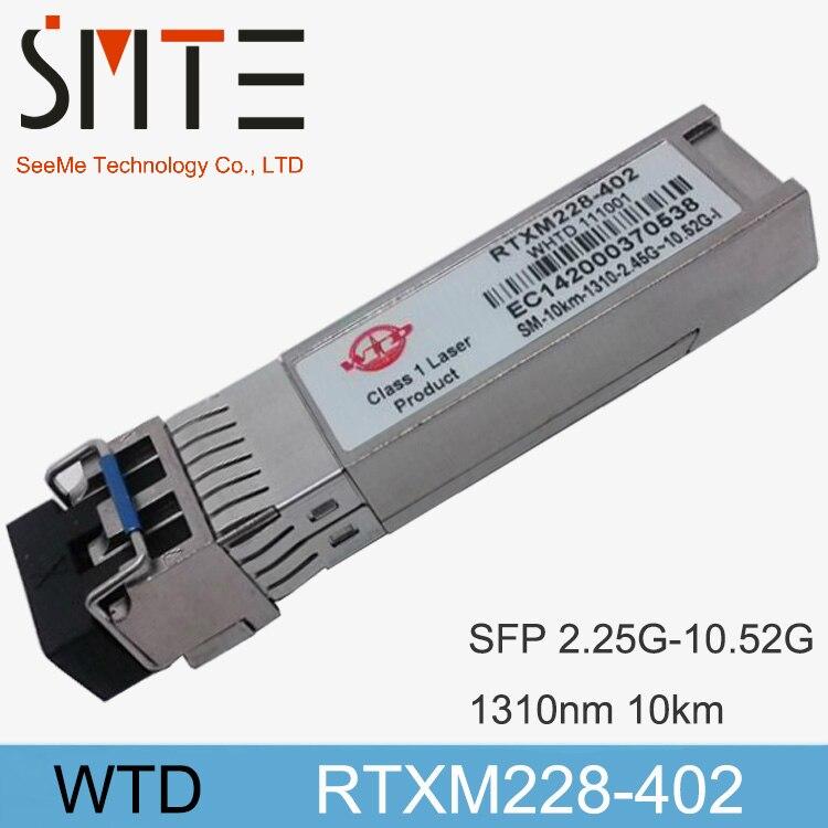 WTD RTXM228-402  Single-mode Module SFP-10G-1310nm-10kmWTD RTXM228-402  Single-mode Module SFP-10G-1310nm-10km