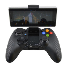 100pcs a lot Bluetooth wireless Gamepad  Game Controller  for phone for ios for android for pc with Cell Phone Holder
