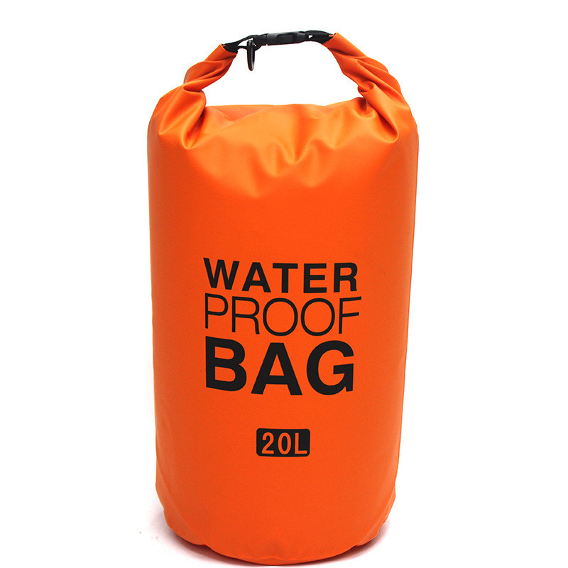9 Colors Waterproof Backpack Dry Bag Pouch Camping Boating Kayaking Rafting Drift Canoeing Storage Sack Outdoor Travel Bag