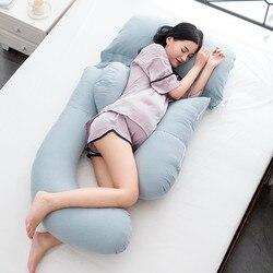 Большой размер подушки для беременных женщин для поддержки талии живот материнство боковая подушка для сна тела беременность кормящих U бо...