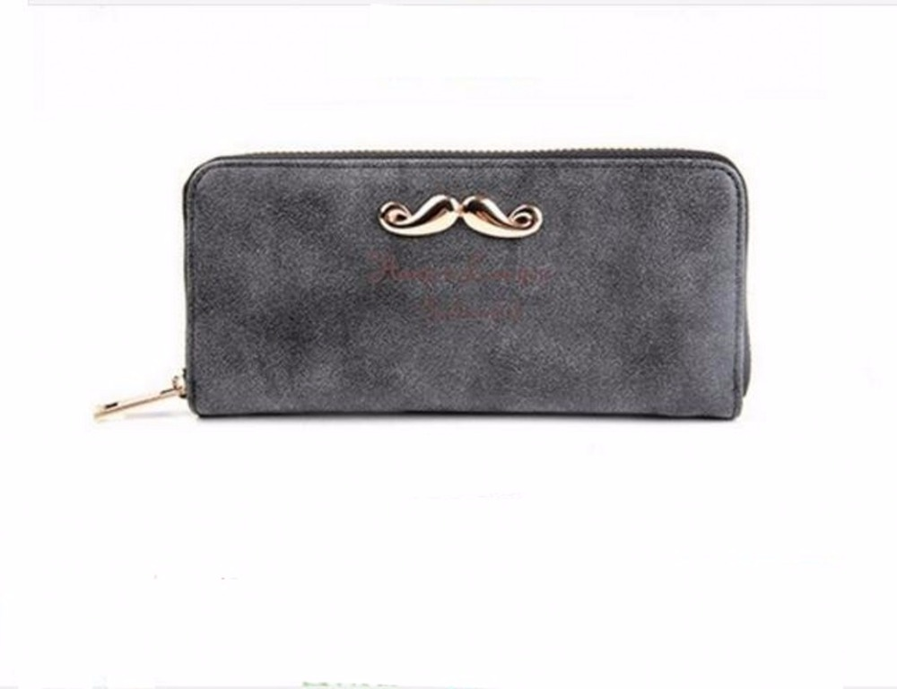 Fashion Long famous ladies women leather wallets womens wallets and purses wallet card holder carteira feminina 40