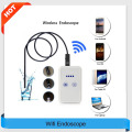 USB Endoscope With WIFI Box HD 720P Inspection Snake Camera 6 LED 9MM Lens 2.0MP 1M/2M/5M/10M For Android IOS USB Wifi Endoscope