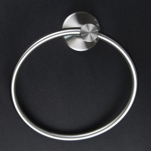 Wall Mounted Stainless Steel Modern Towels Ring NDK 2360 free shipping