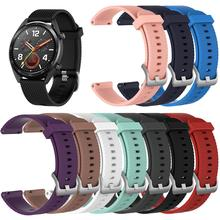Replacement Watchband Fashion Silicone Strap Band Smart Watch for Huawei Magic/Watch GT/Ticwatch Pro