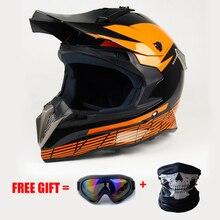2017 de La Motocicleta ATV Dirt bike downhill cruz capacete da motocicleta cascos Motocross cascos off road