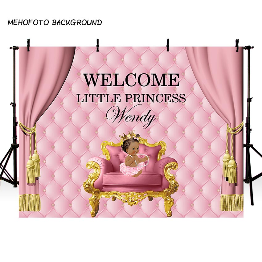 все цены на MEHOFOTO Photography Backdrops Custom Baby Shower Princess Birthday Party Photo Background Studio PA-013
