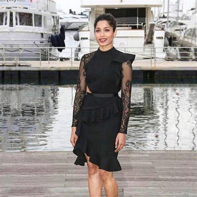 22b1e5547c8c Oferta Vestido de diseñador alta calidad 2018 vestidos fiesta sirena ...