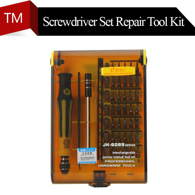 free shipping 45 in 1 jackly jk6089 a magnetic precision torx screwdriver set repair tool kit. Black Bedroom Furniture Sets. Home Design Ideas