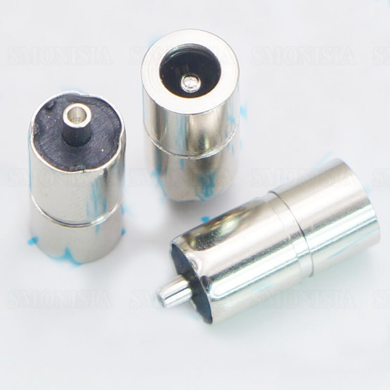 DC083 DC Power Female Socket Whole Metal Straight Plug Aperture 4.0 Pin 1.7 4.0*1.7mm Power Connector