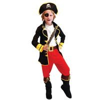 Kids Boys Pirate Costumes Cosplay Costumes For Baby Boys Halloween Party Cosplay Costumes For Kids Children