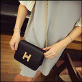 summer new collection small chain strap shoulder bag H style simple elegant all match cross shoulder bag fashion handle bag