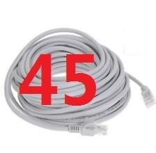 45 # laoke 2018 кабель высокого Скорость 1000 м RJ45 CAT6 сети Ethernet плоский кабель LAN UTP Патч-маршрутизатор Кабели