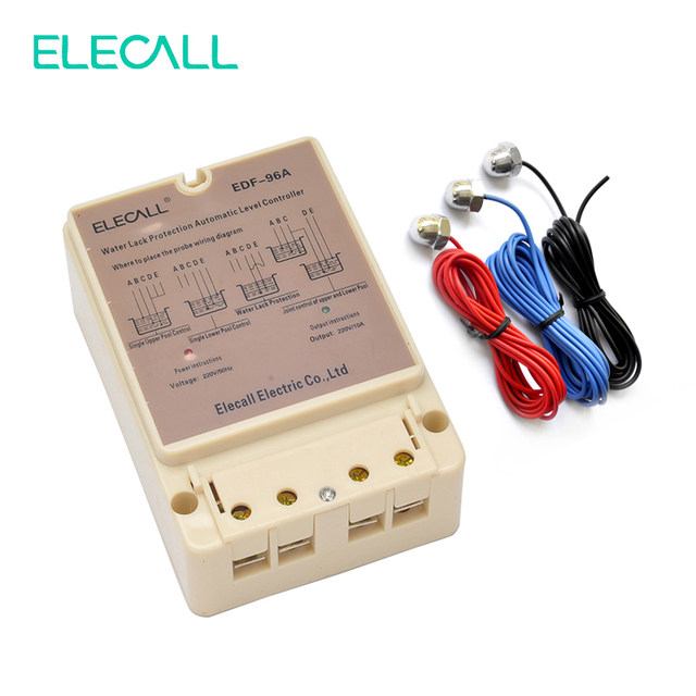 ELECALL EDF 96A Water Automatic Level Controller 10A 220V Electronic Water Liquid Level Detection Sensor Water_640x640q90 online shop elecall edf 96a water automatic level controller 10a