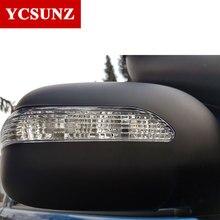 Боковые зеркала автомобиля зеркальное покрытие из АБС-пластика крышка зеркала заднего вида с индикатором для Toyota Hilux Vigo SR5 2012 2013 кабина с двумя рядами