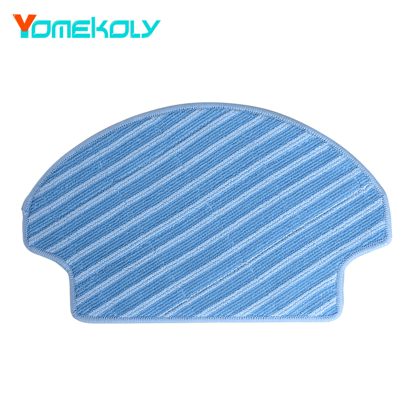 1PC New Type Mopping Cloth for Ecovacs Deebot DT85G DT85 DT83 DM81 DE35 DR95 DR92 Mop Pads Robot Vacuum Cleaner Spare Kits ntnt free post new 5 pcs mopping cleaning cloth replace for ecovacs deebot cen550