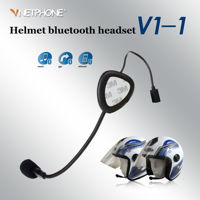 intercomunicadores de motos Motorcycle Wireless Bluetooth Headset V1-1 Helmet Headset Earphone Motorcycle P0015930