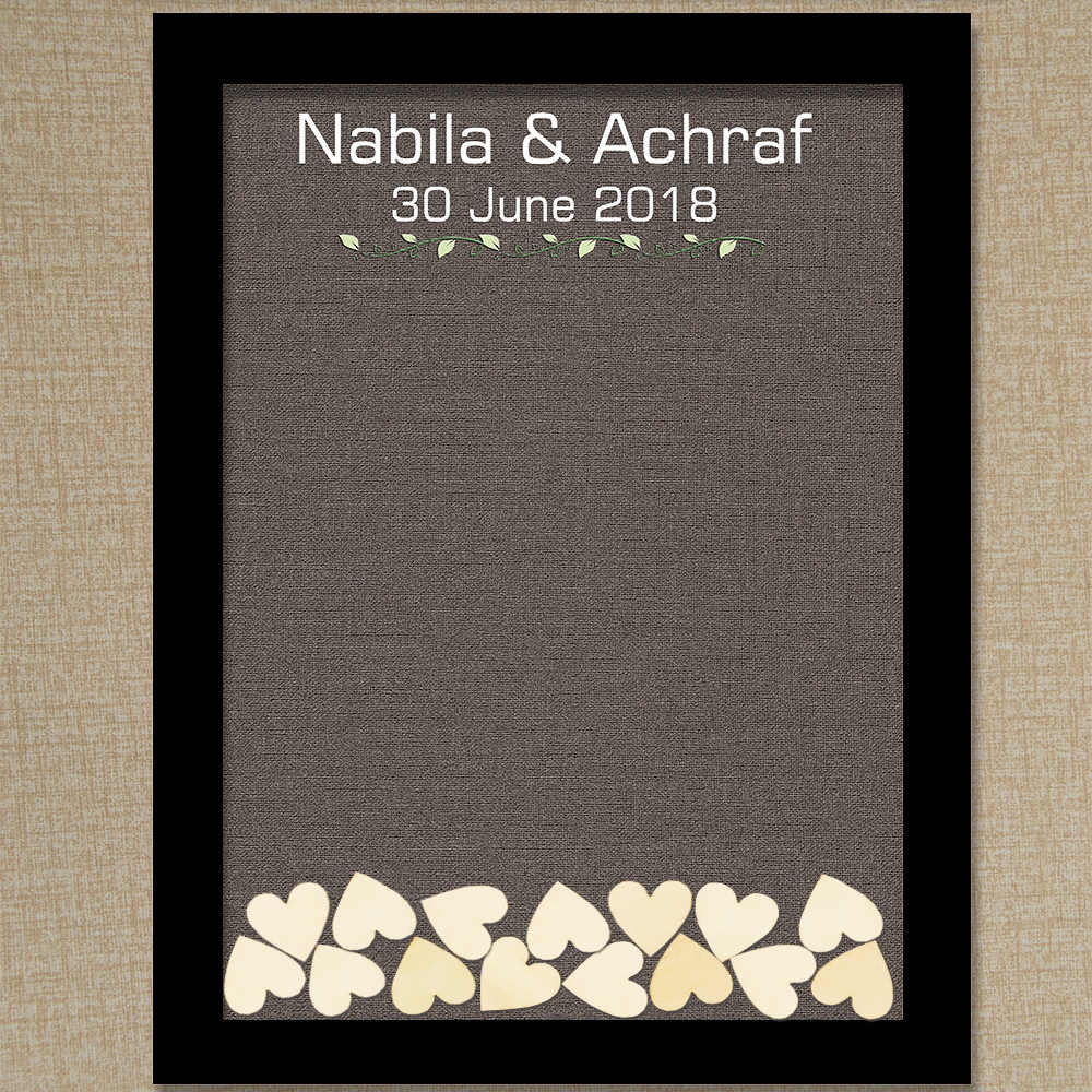 small wedding guest books