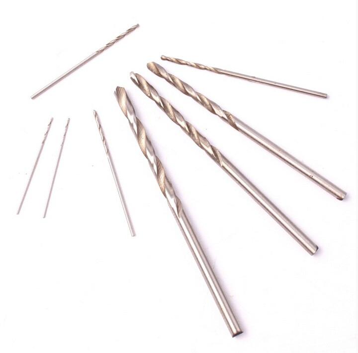 Fixmee 120PCS HSS punta elicoidale trapano elicoidale noce vajra bodhi Perline perline pugno piccolo po '0,5 0,6 0,7 0,8 0,9 1,0 mm