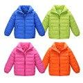 8 цвет Розничные новые 2016 мода дети весна хлопок теплая вниз пальто дети верхняя одежда куртки для мальчиков зима хлопка мягкий