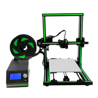 High Accuracy Assembled 3D Printer Machine A3S FDM 3D Printing Metrials ABS PLA HIPS Easy To