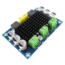 Digital Amplifier Board 100W TPA3116D2 DC 12-26V 1 channel backplane ABS + metal monaural