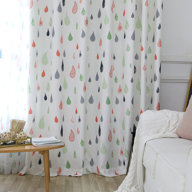 US $9.24 34% OFF|Simple Contemporary Curtains for Bedroom Scandinavian  Velvet Hemp Curtains for Living Room Balcony Window Curtain Cloth-in  Curtains ...