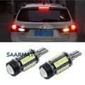 Par branco 6000 k w16w t15 lâmpadas led car backup reversa cauda lâmpada para mitsubishi asx 12 v auto acessórios etc