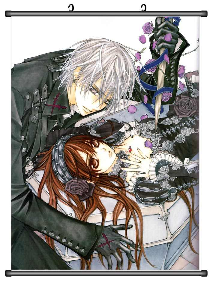 Vampire Knight Anime Dictionary Art Print Poster Picture Kaname Yuuki Zero