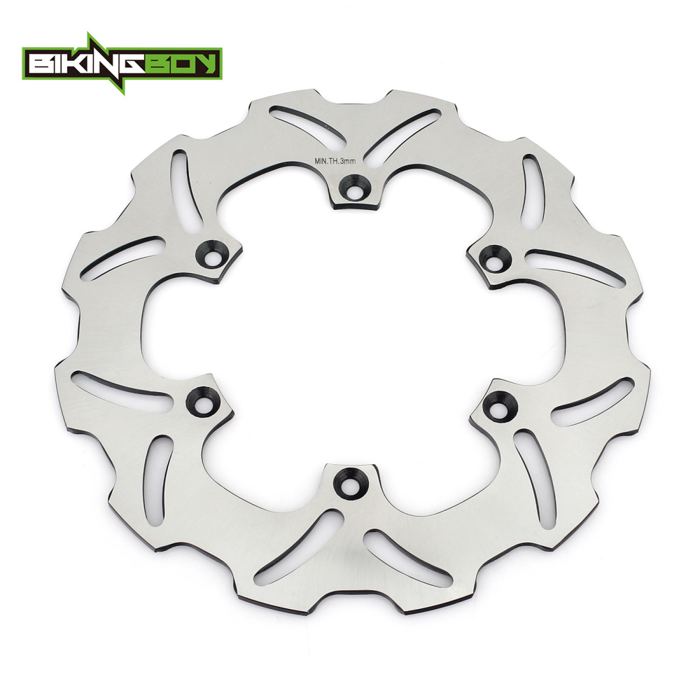 BIKINGBOY Rear Brake Disc Rotor Disk For SUZUKI RM 125 250 RM125 2000-2009 RM250 2000-2012 DRZ 400 SM SuperMotard 2005-2010