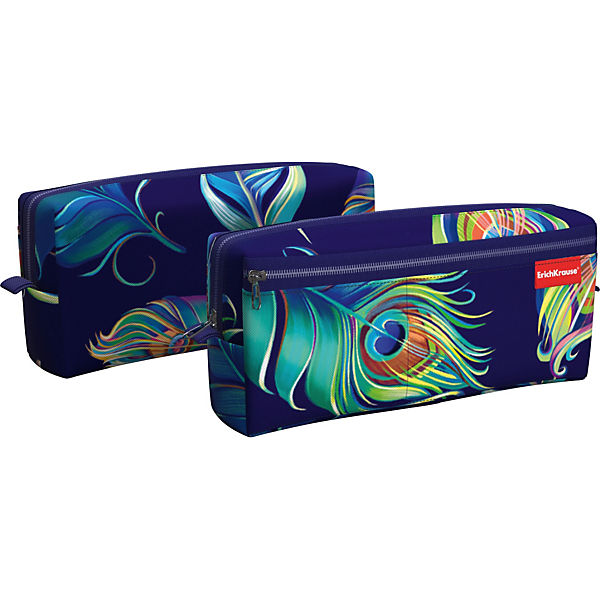 Pencil Case-cosmetic bag Erich Krause Evanescence kicute new 80 slots multi layer school marker case markers pen case holder pencil case storage bag painting for student artis