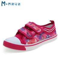 M MNUN 2016 New Girls Canvas Shoes Children S Shoes Autumn Kids Sneakers Fashion Sneakers Denim