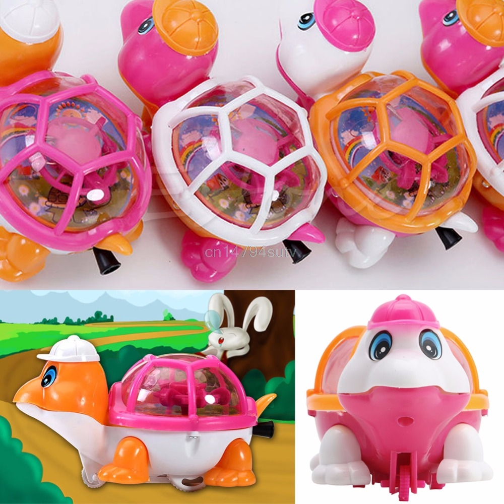 1Pc-New-Lovely-Infant-Baby-Educational-Pull-Emitting-Little-Turtle-Light-Kid-Toy-H055-2